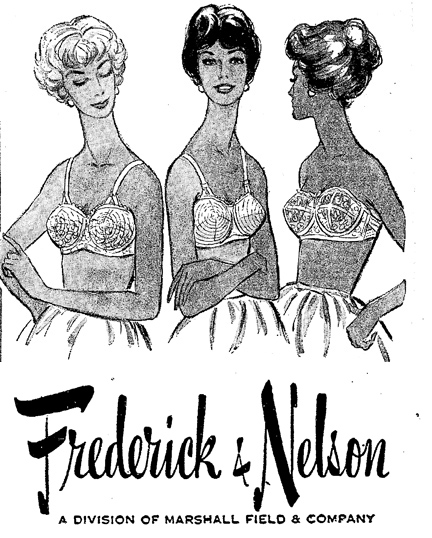 Frederick and Nelson advertisement, The Seattle Times, July 19, 1959