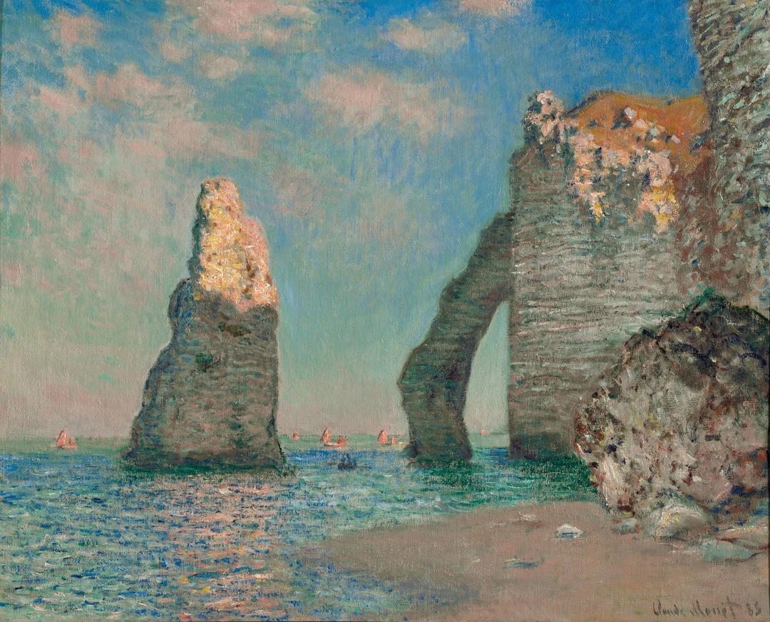 Monet's Letters: The Cliffs at Étretat
