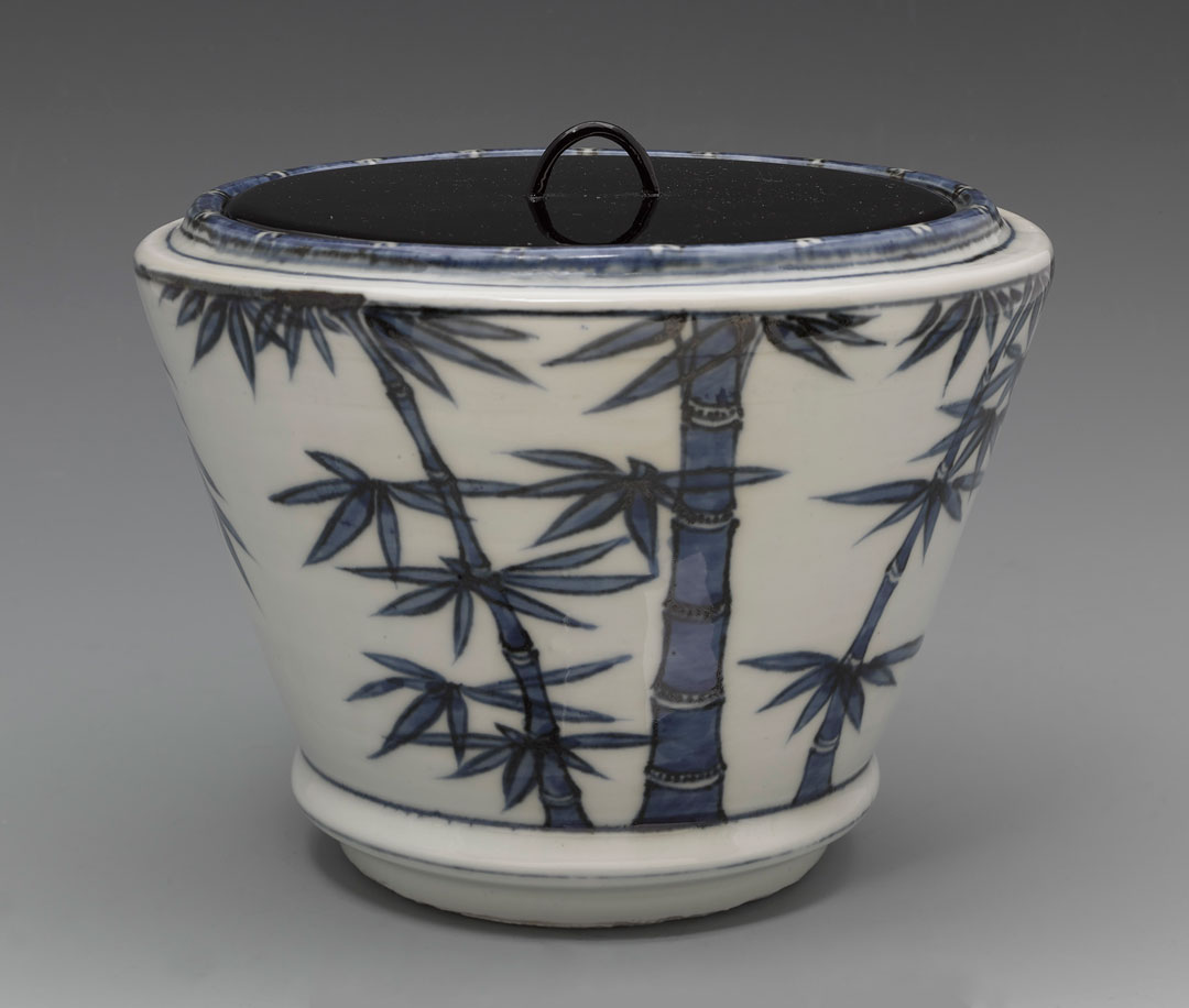 Object of the Week: Mizusashi (water jar) with bamboo