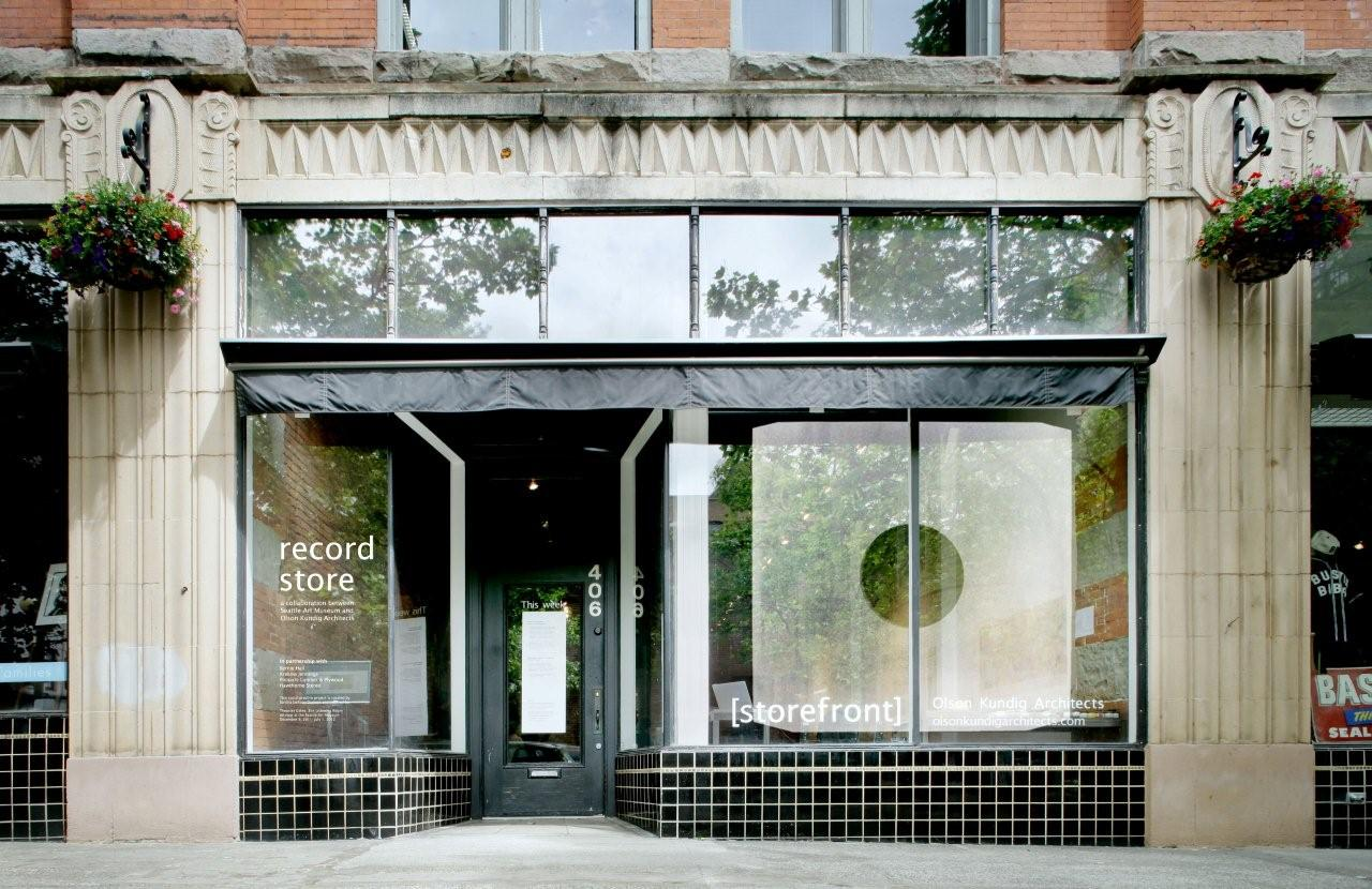 Link to Record Store: A Collaboration Between SAM and Olson Kundig Architects Opens Tonight