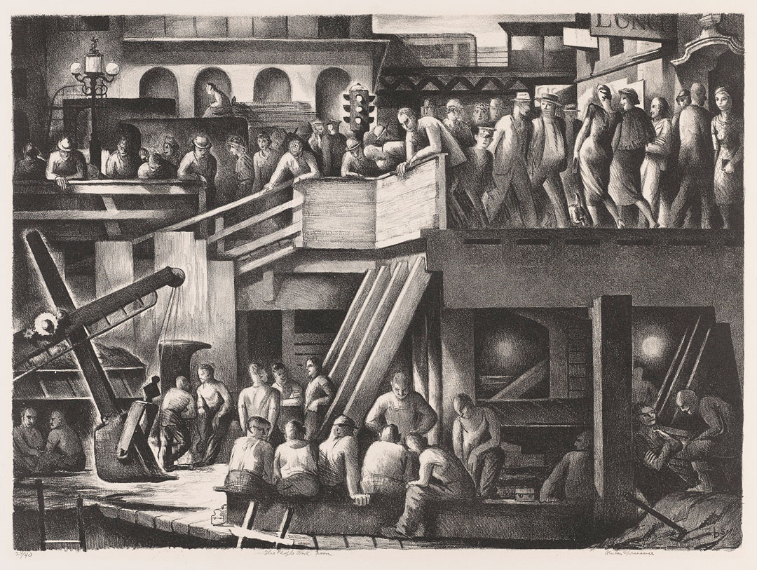 Object of the Week: The People Work