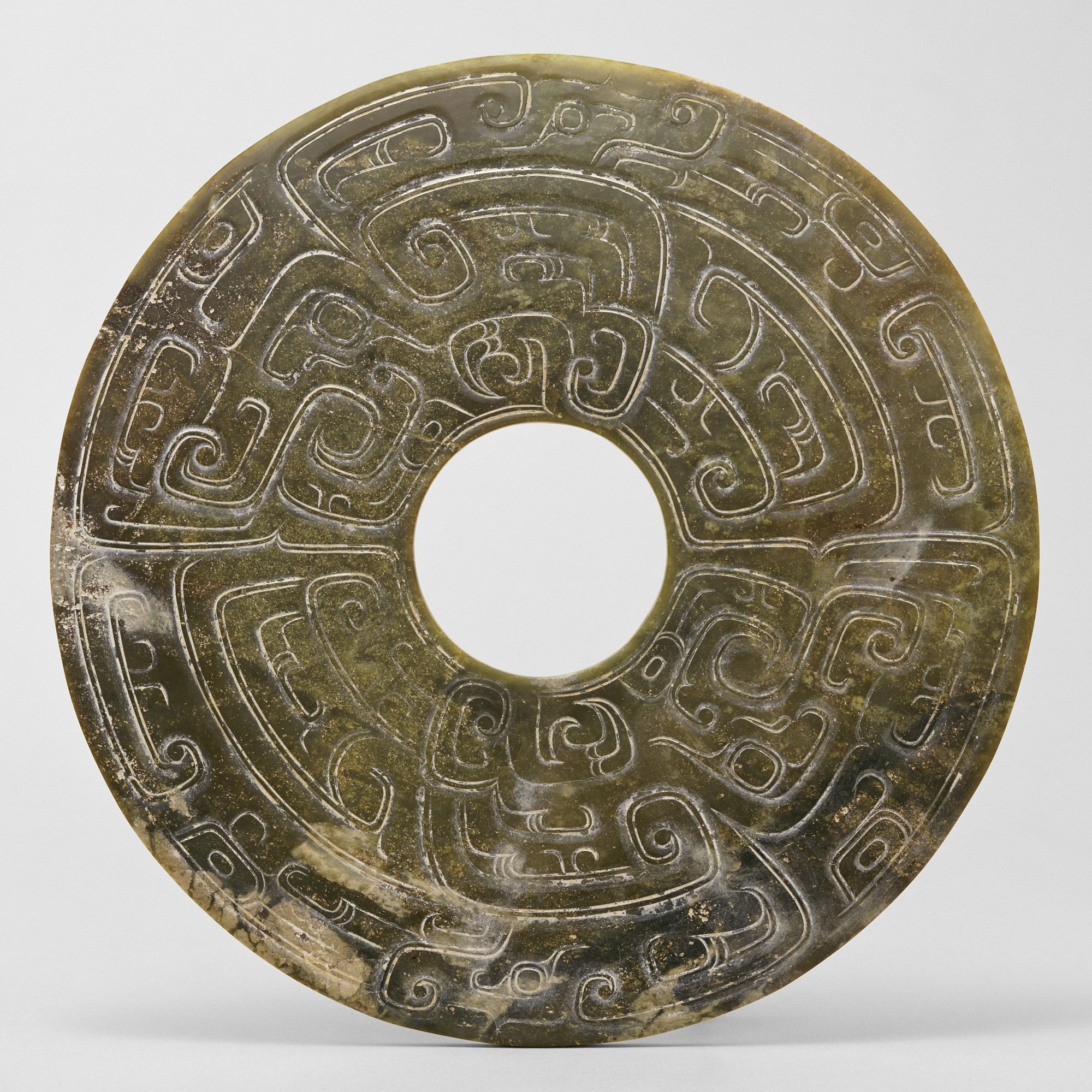 Object of the Week: Disc with dragon motif