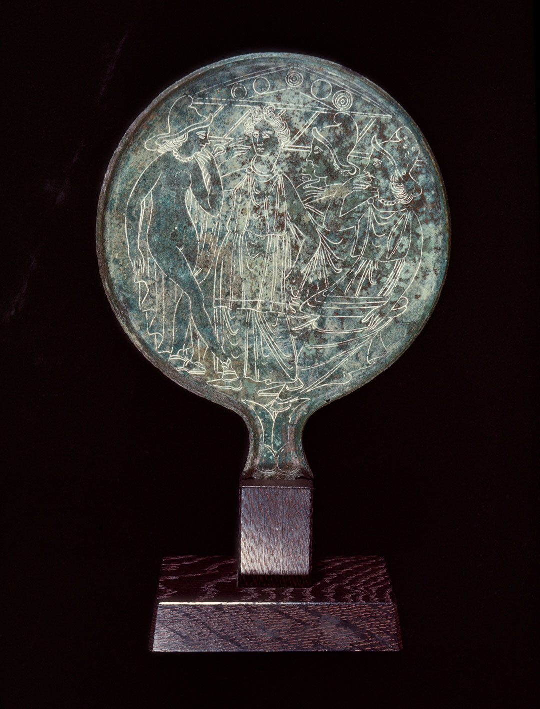 Object of the Week: Mirror with the Judgment of Paris