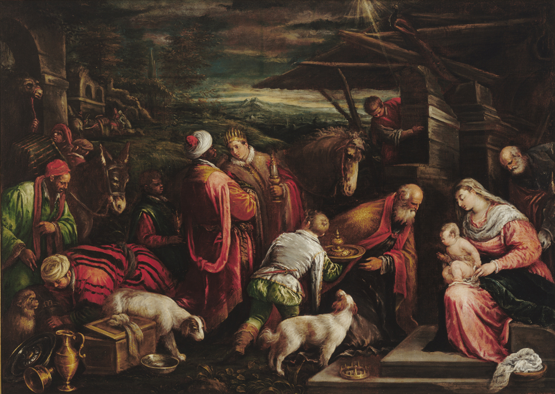 The Adoration of the Magi