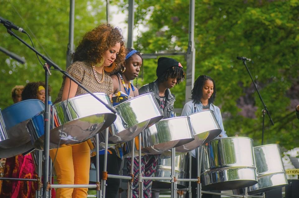 Get Worldly with The Seattle Women's Steel Pan Project