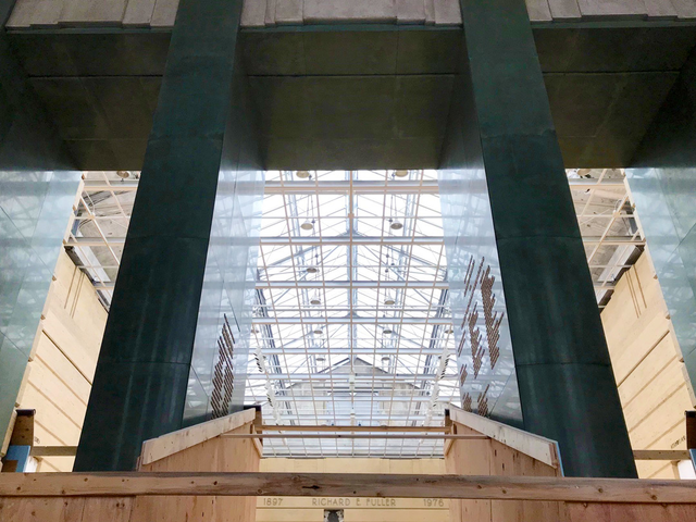 Inside the Asian Art Museum: Demolition Today, Reinforcement Tomorrow