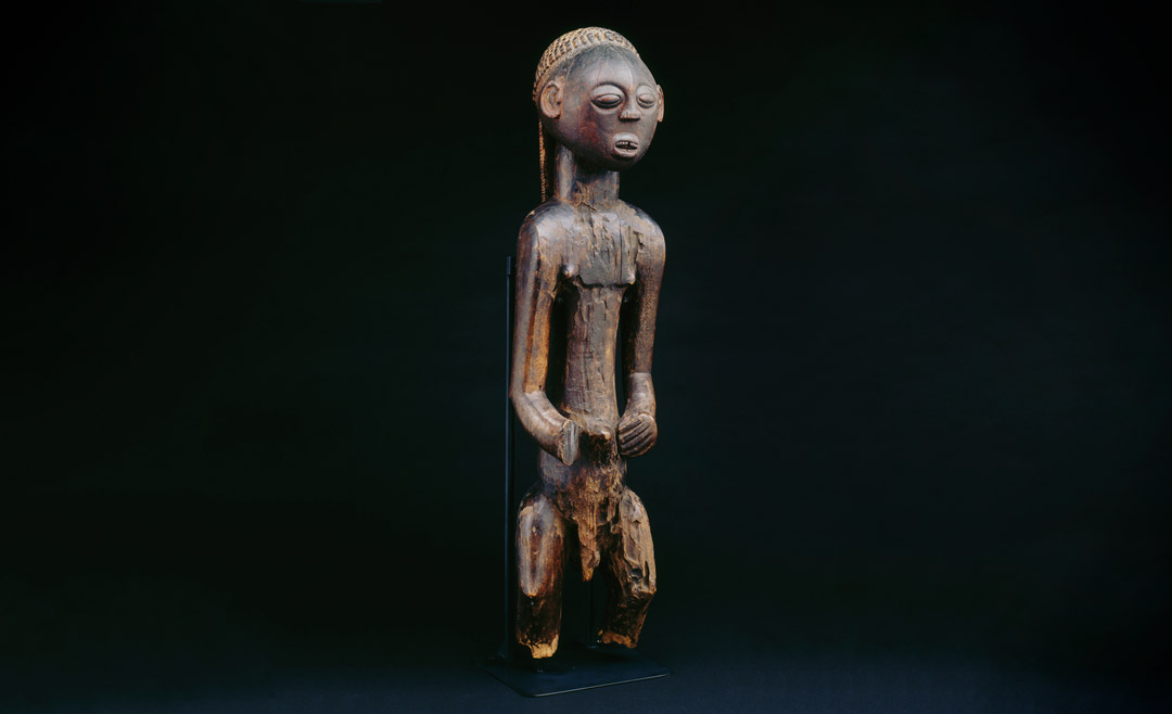 Male figure with balamwezi pattern