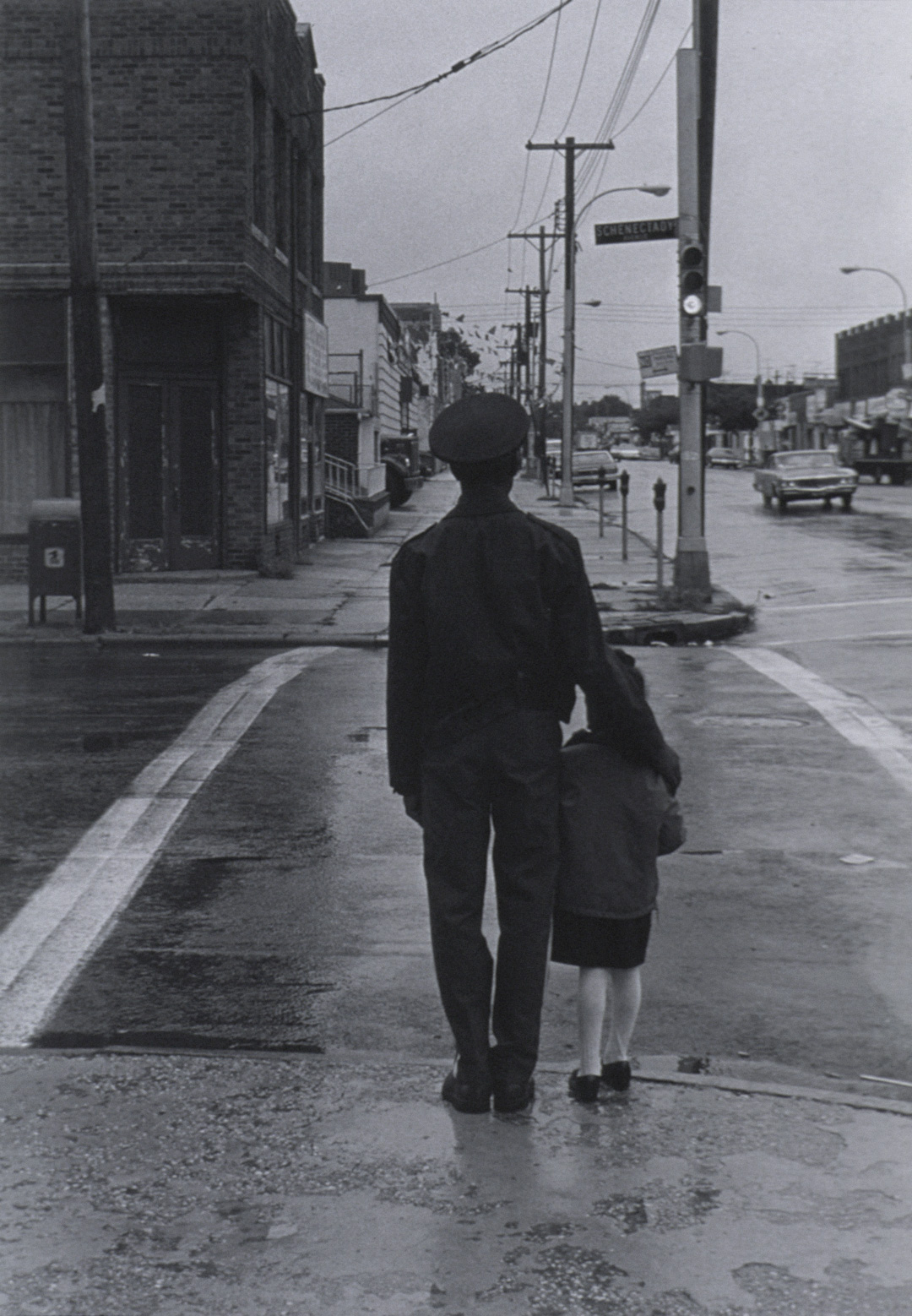 Object of the Week: Man and Girl at Crossing