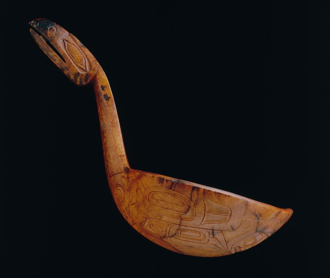 Object of the Week: Sdláagwaal (horn ladle)