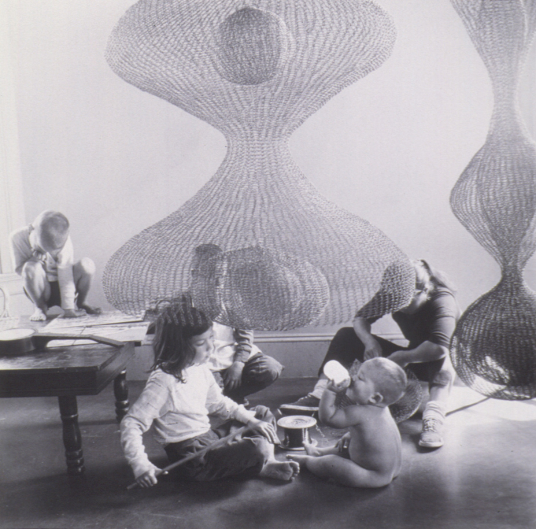 Object of the Week: Ruth Asawa Family and Sculpture