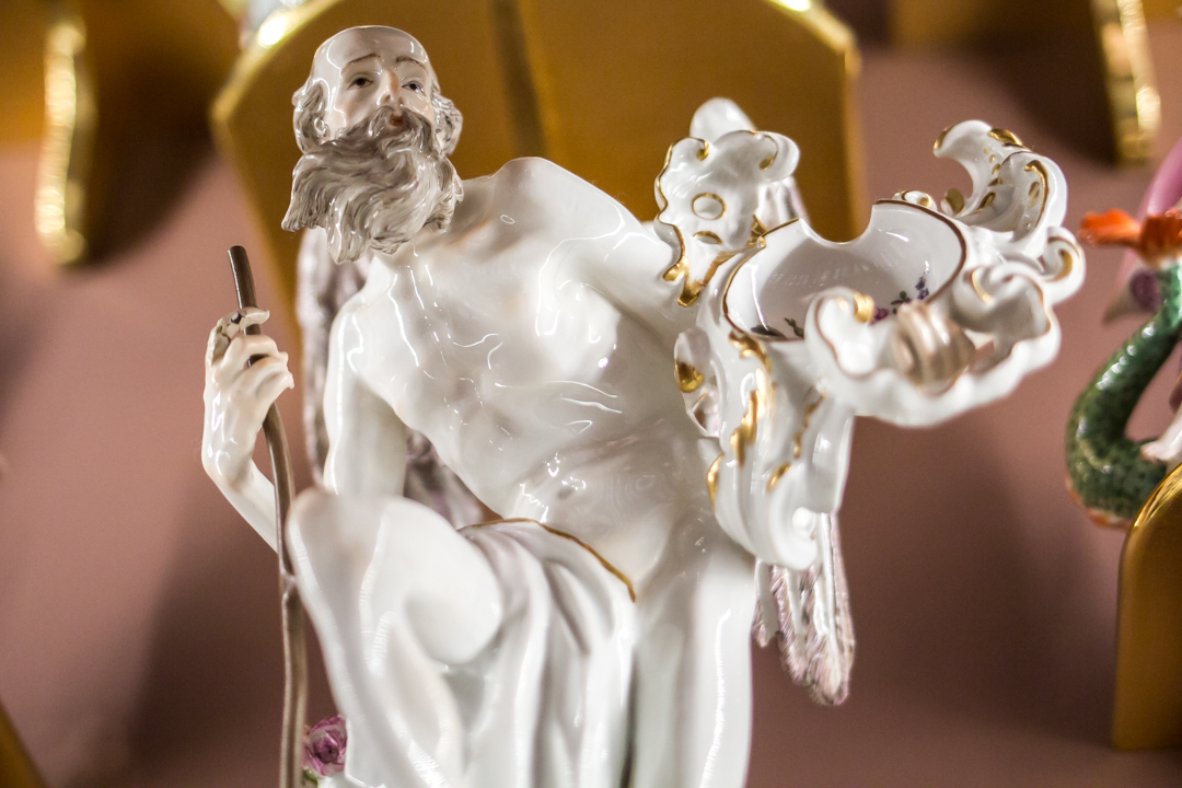 """Father Time"", ca. 1745, Meissen manufactory"