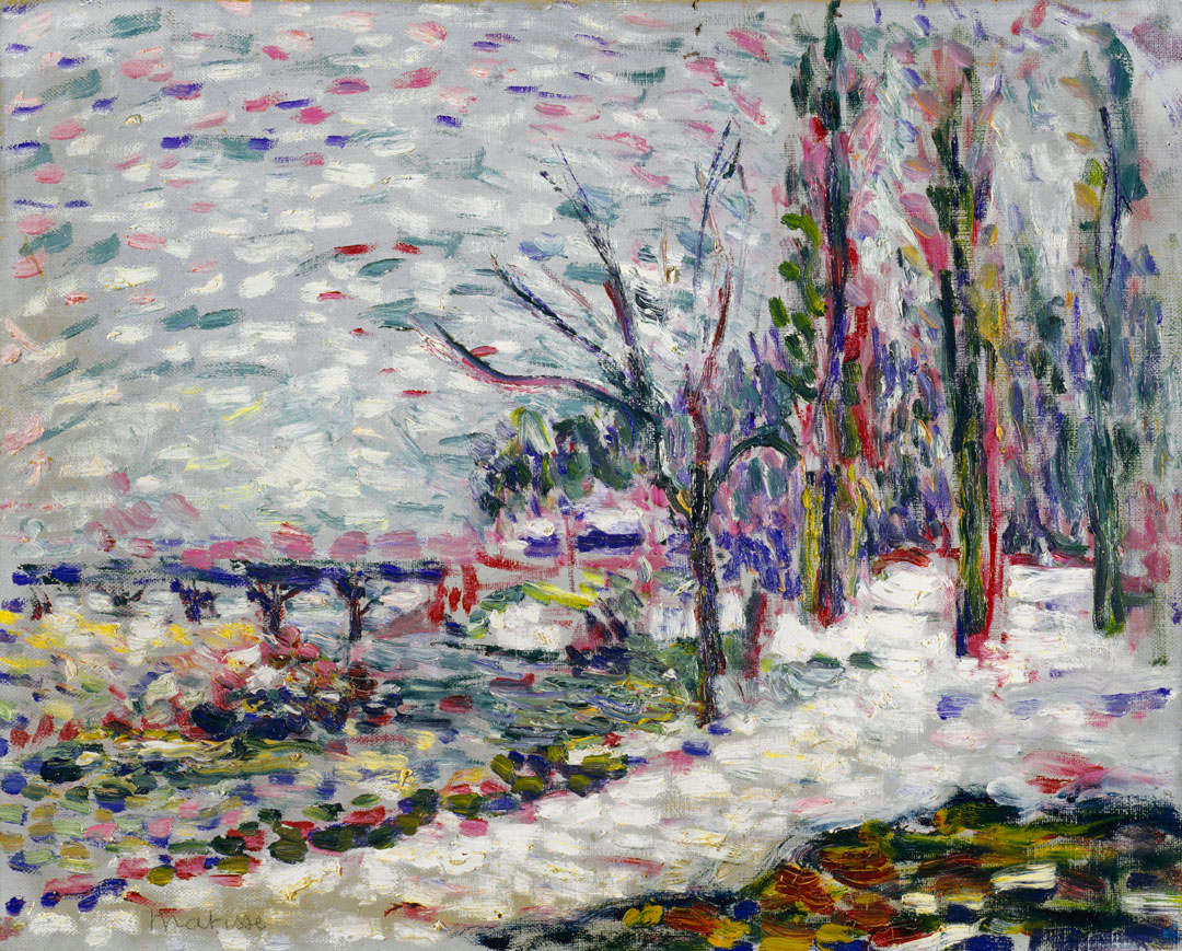 Object of the Week: Winter Landscape on the Banks of the Seine