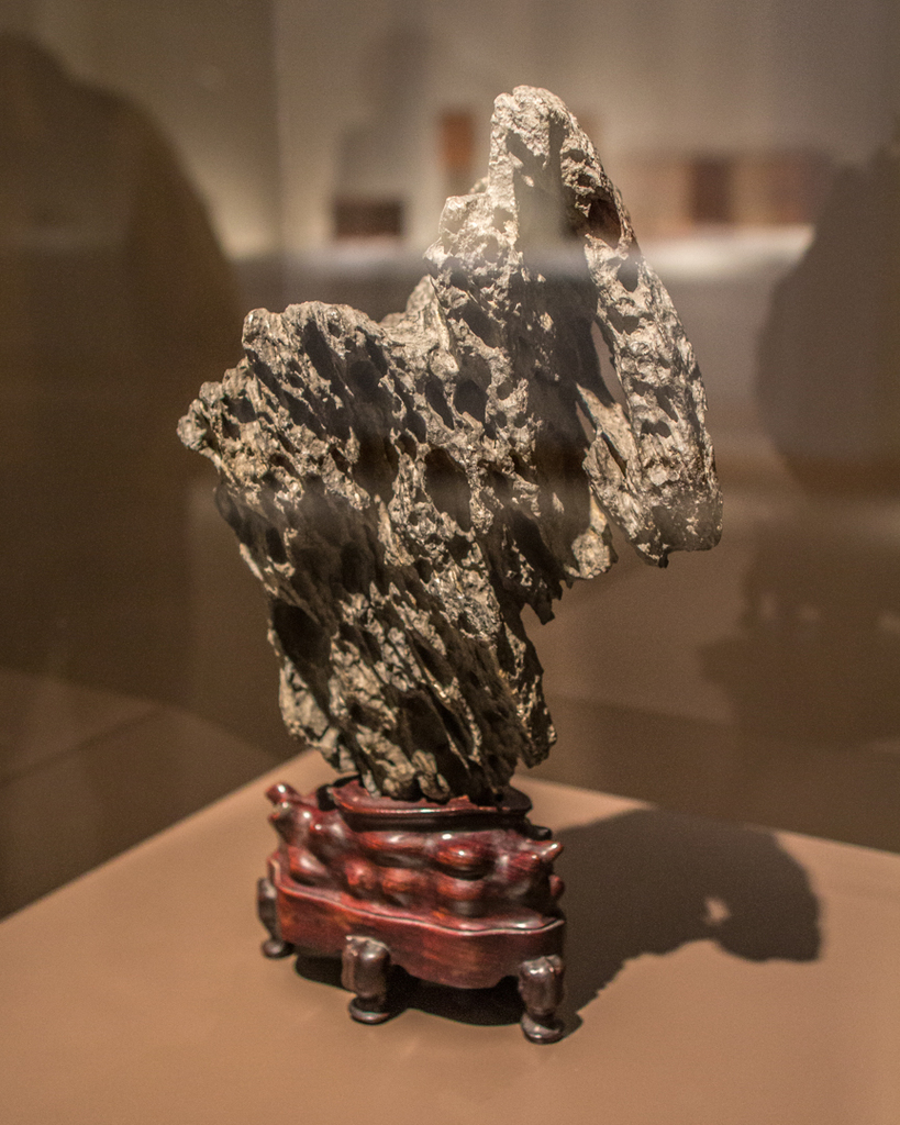Object of the Week: Scholar's rock on stand