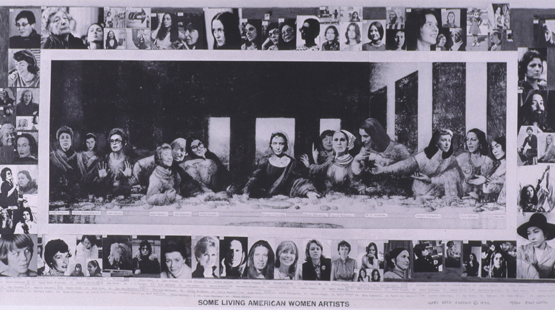 Object of the Week: Some Living American Women Artists/Last Supper