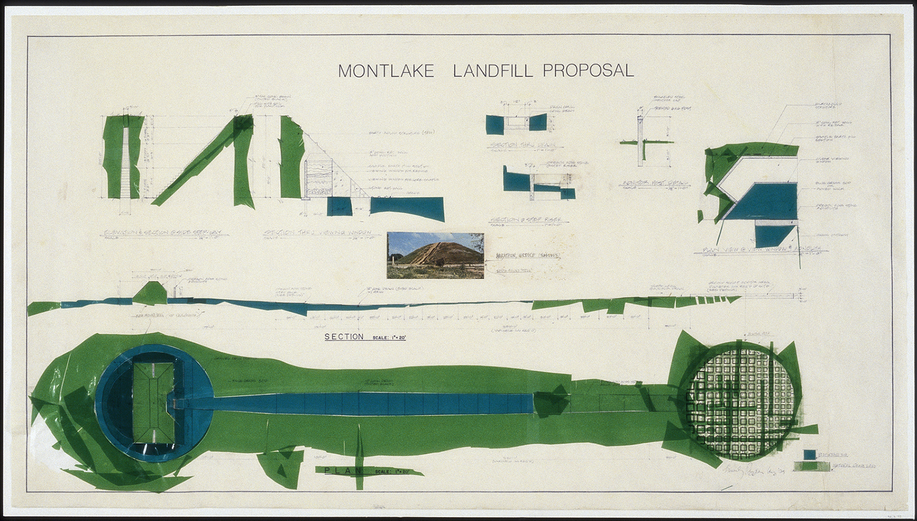 Object of the Week: Engineering Drawing for Montlake Landfill Proposal