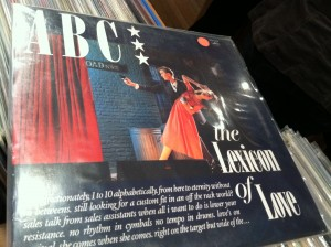 ABC The Lexicon of Love Album Cover