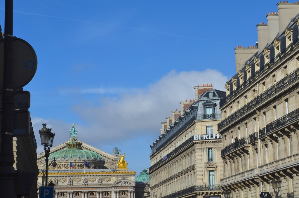 A sunny day in Paris. Photographer: Gabriela Ayala