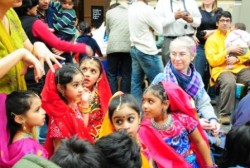 Kids enjoying last year's pre-Diwali celebration