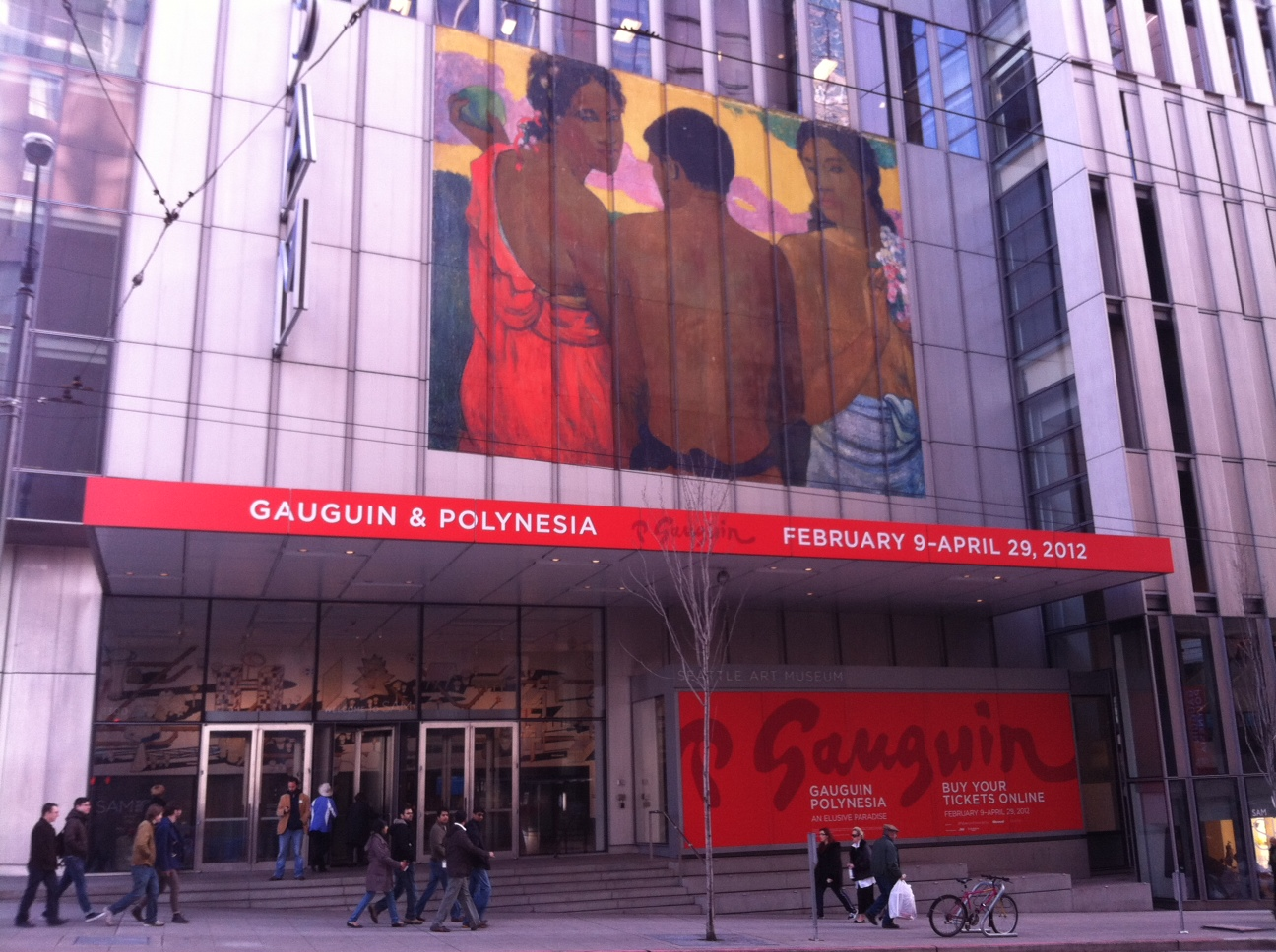 """Gauguin & Polynesia: An Elusive Paradise"" will be on view at the Seattle Art Museum from February 9-April 29, 2012"