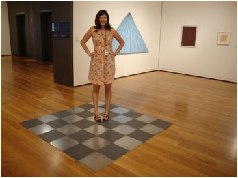 Hailey Hargraves, summer intern at the Seattle Art Museum