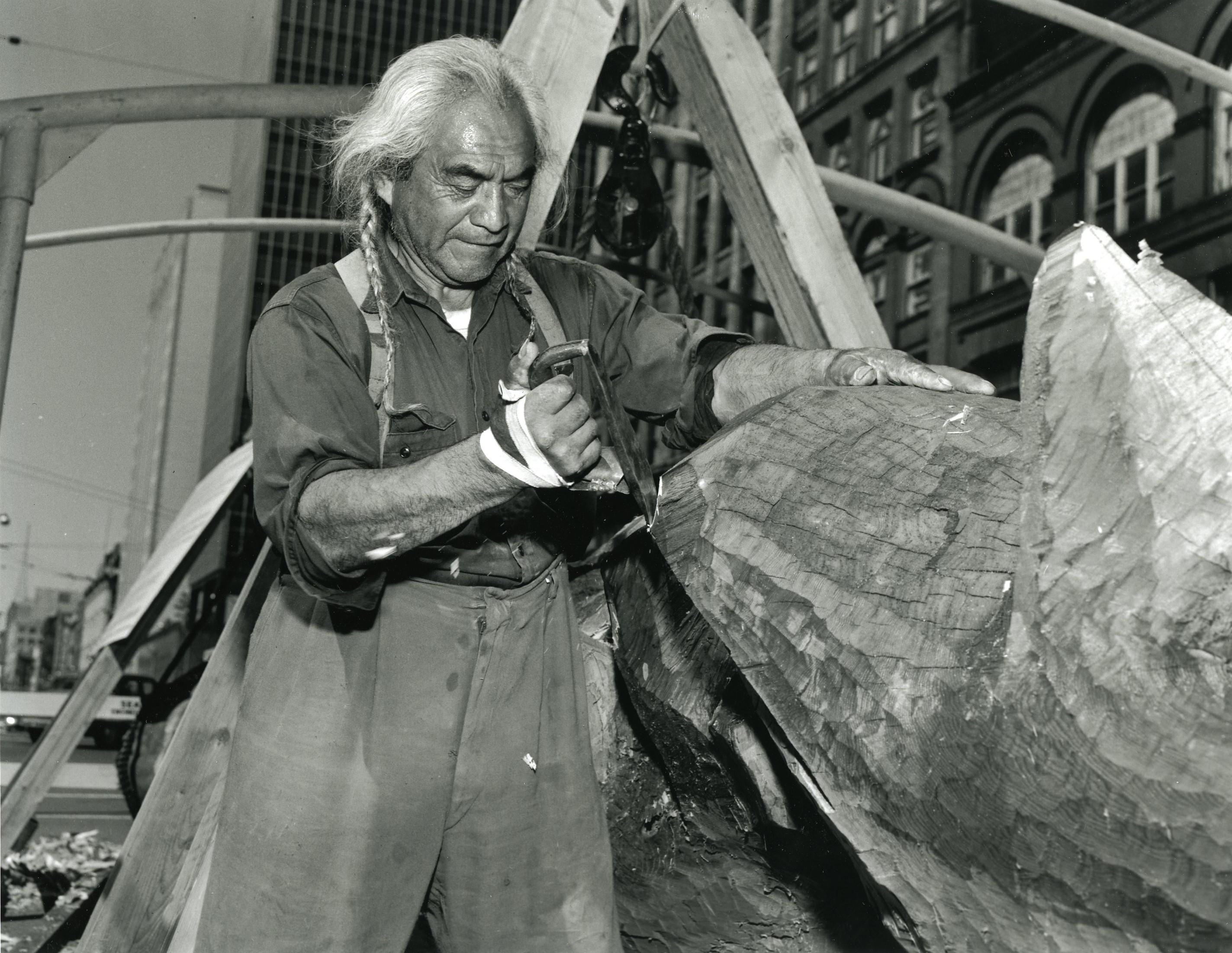 Joseph Hillaire: Carver of the Kobe-Seattle Sister City Friendship Pole
