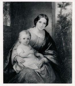 Cabinet Portrait by Daniel Huntington in the SAM collection.