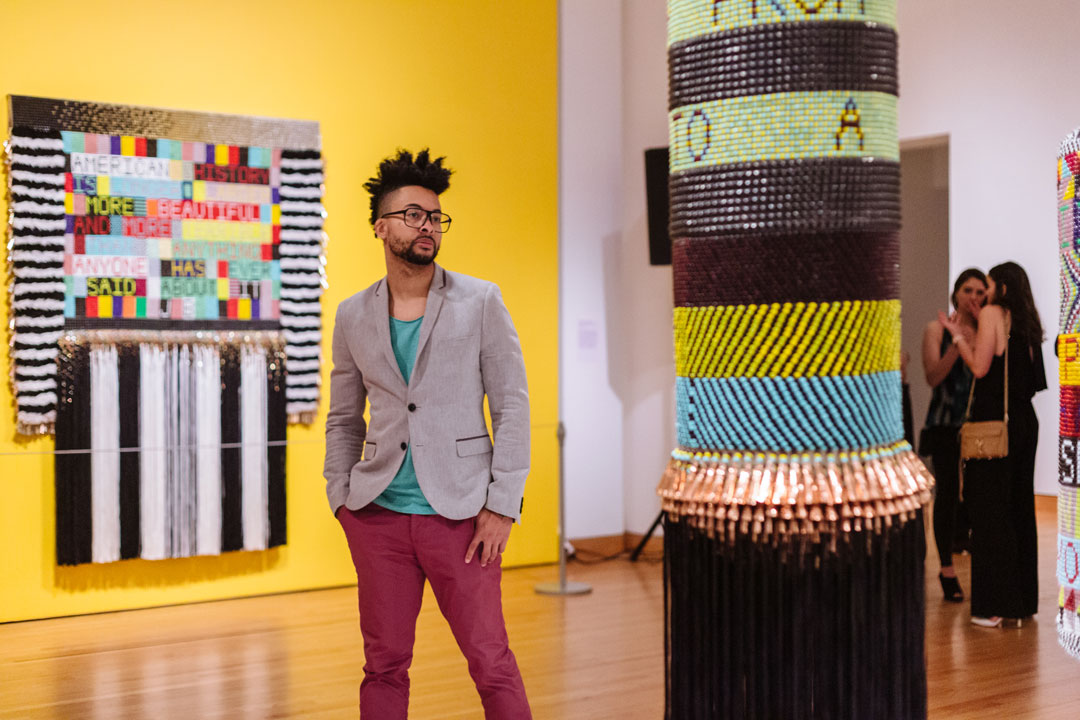 Muse/News: First Thursday, drawing darkness, and a monument to Shirley Chisholm