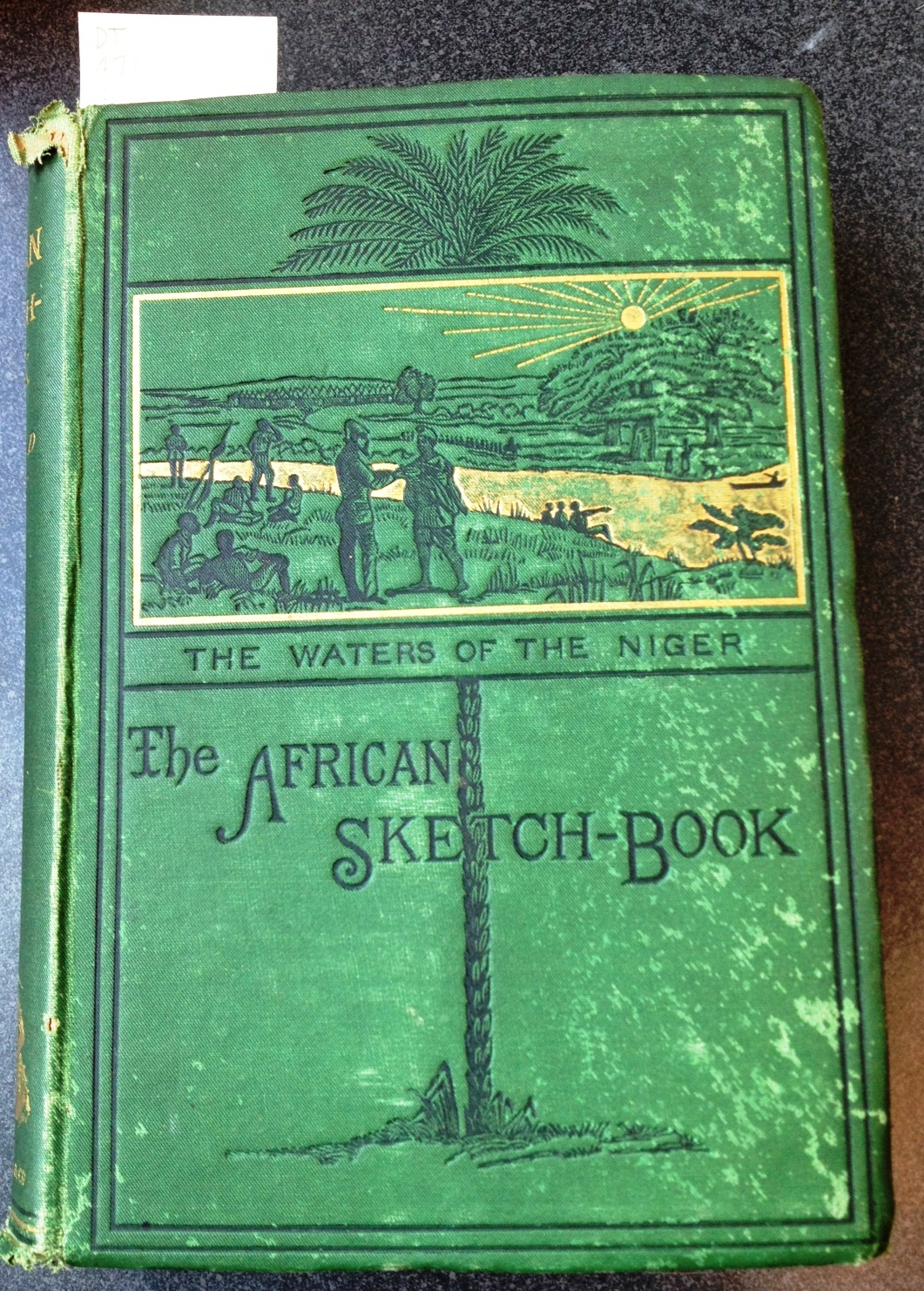 Cover of The African Sketch-Book, 1873.