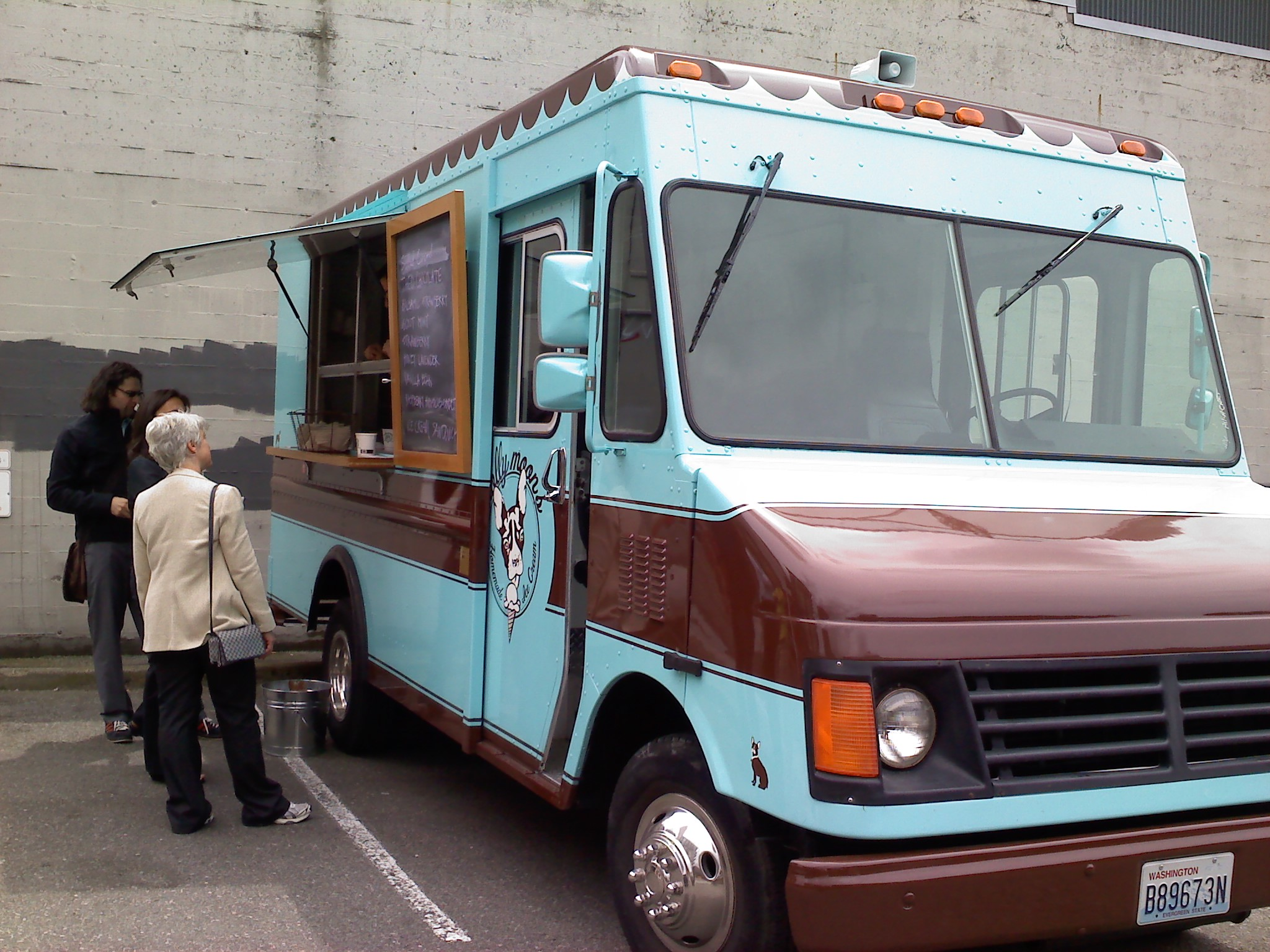 Leo, Molly Moon's ice cream truck, will be at March to the Center of the Earth: Community Night Out on May 5 at the Seattle Art Museum