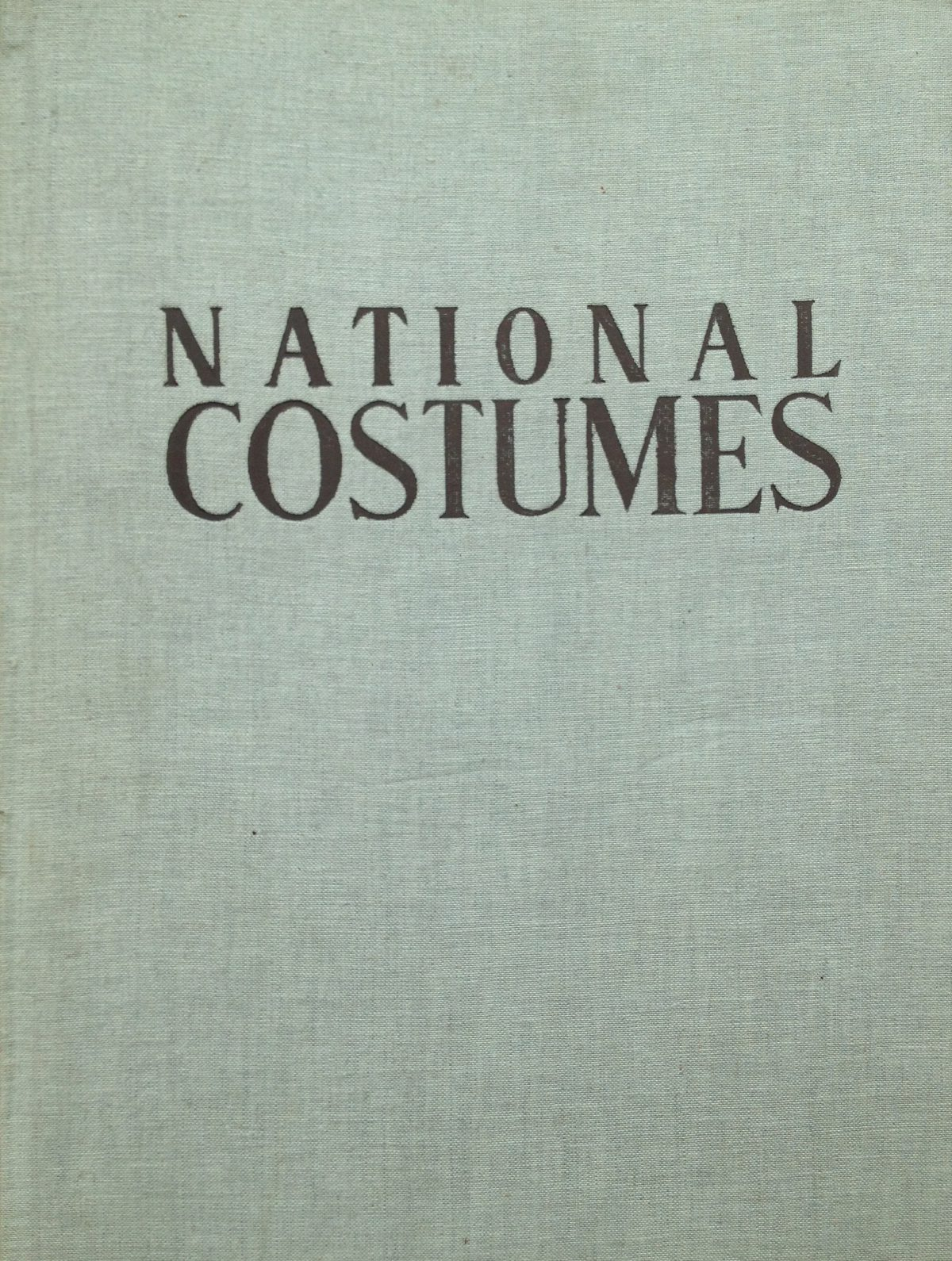 Books on Costume from the Bullitt Library: Peasant Dress Illustrations