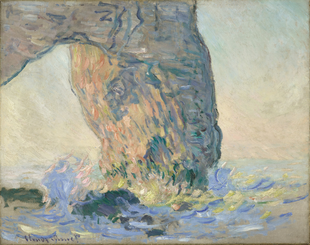 Monet's Letters: Waves at the Manneport