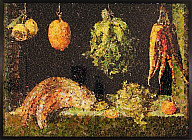 Still Life with Fruit and Vegetables, after Juan Sanches Cotan