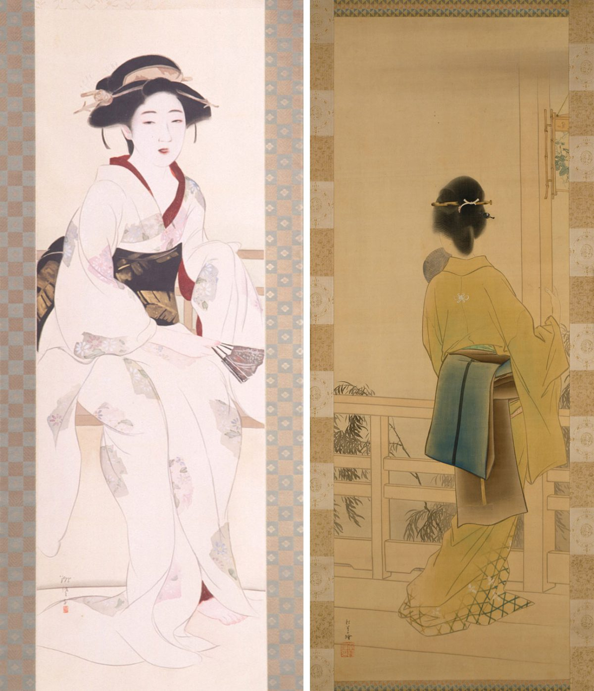 Object of the Week: Summer Evening & Woman in Summer Attire