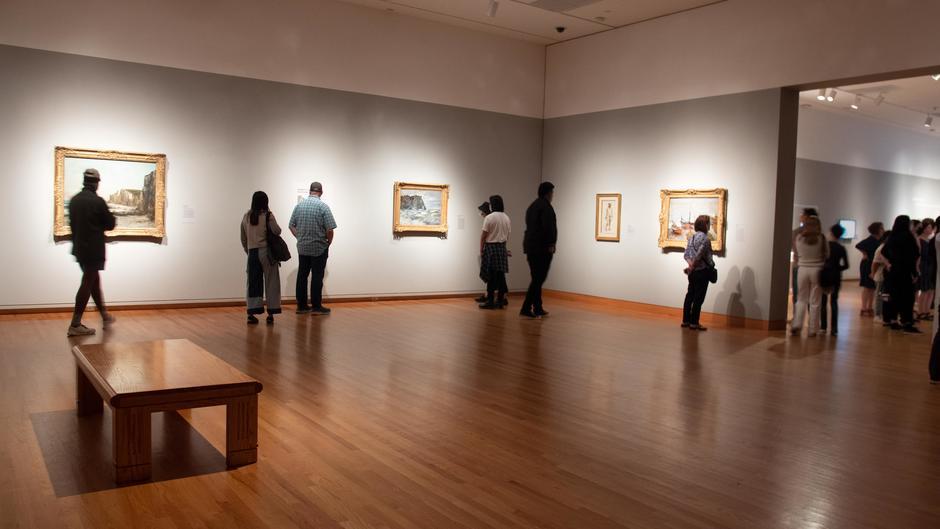 Muse/News: Monet at SAM, Art Walks, and Cave Cinema