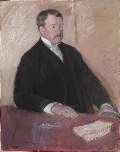 SAM Art: Portrait of Alexander J. Cassatt