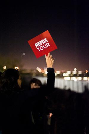 Get to Know the Olympic Sculpture Park After Dark at Remix