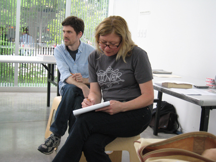 Behind the Scenes: In Space & Time with Gretchen Bennett and D.W. Burnam