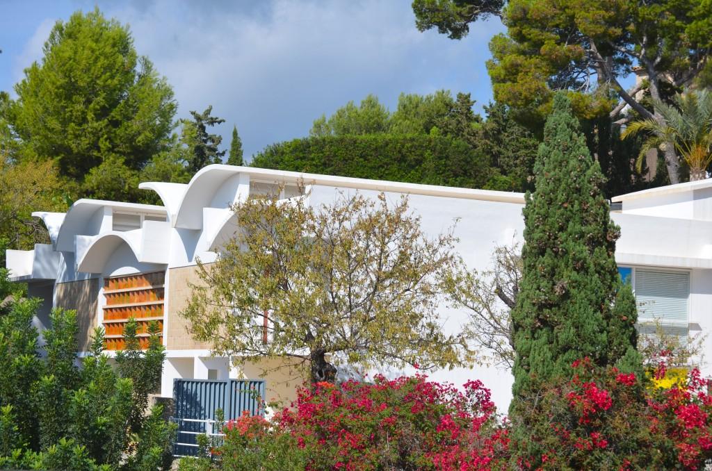 Exterior of Fundació Pilar i Miró. Photographer: Gabriela Ayala