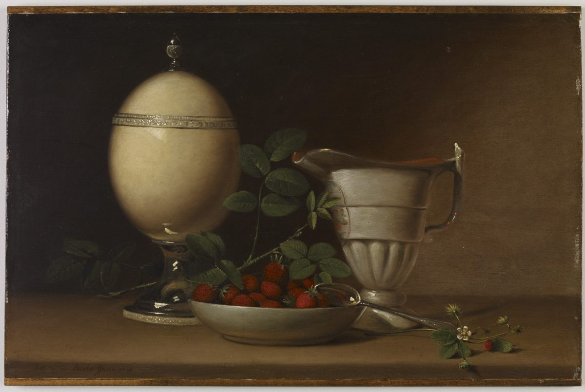Object of the Week: Still Life with Strawberries and Ostrich Egg Cup