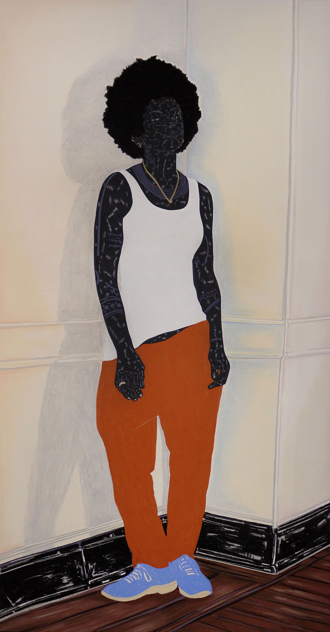 Toyin Ojih Odutola's Postures: In This Imperfect Present Moment