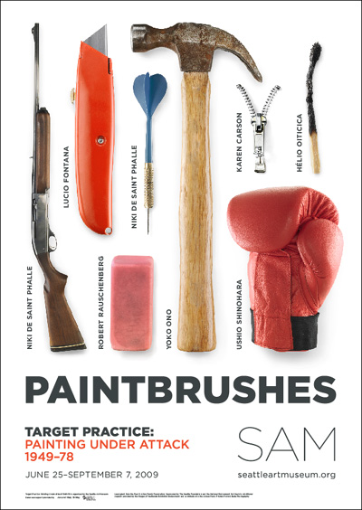 Target Practice: Painting Under Attack 1949–78 promotional poster