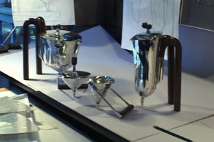 Coffee and tea service, screen shot from the SAM video