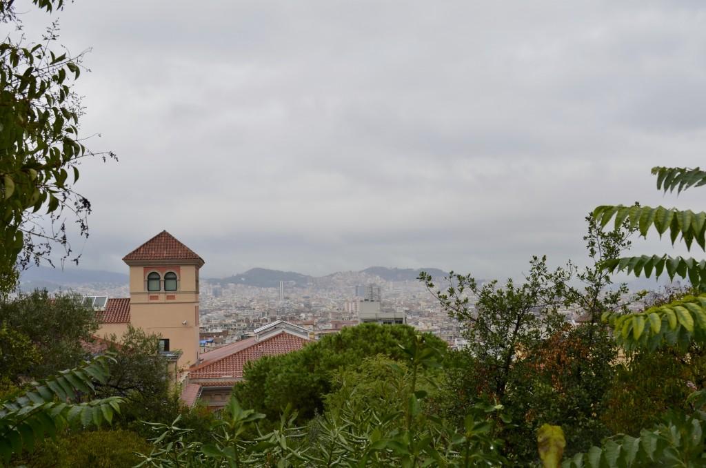 View from Montjuïc Park, Barcelona. Photographer: Gabriela Ayala