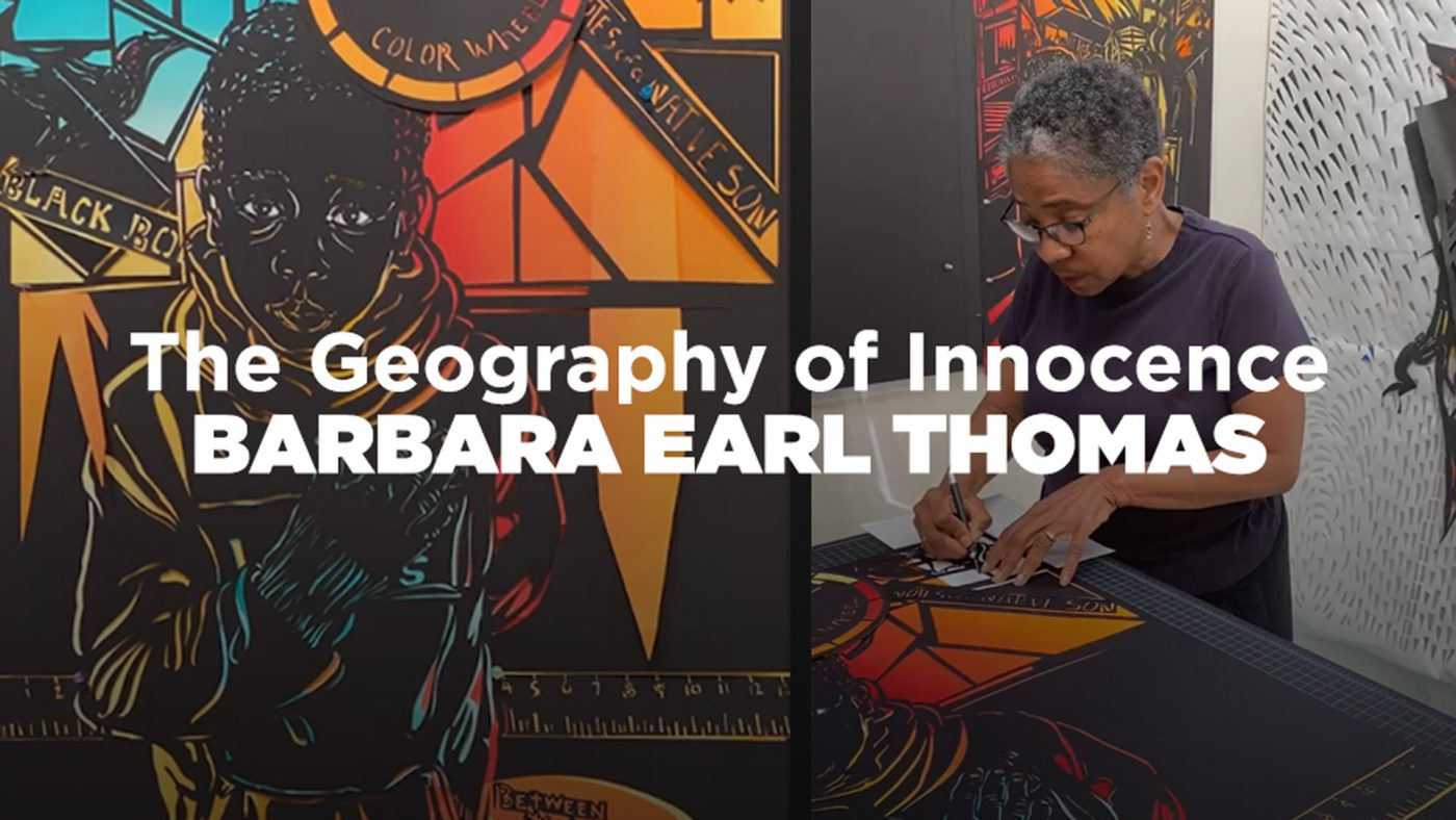 SAM Talks: Barbara Earl Thomas on The Geography of Innocence