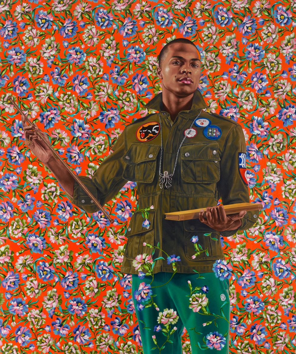 Anthony of Padua by Kehinde Wiley