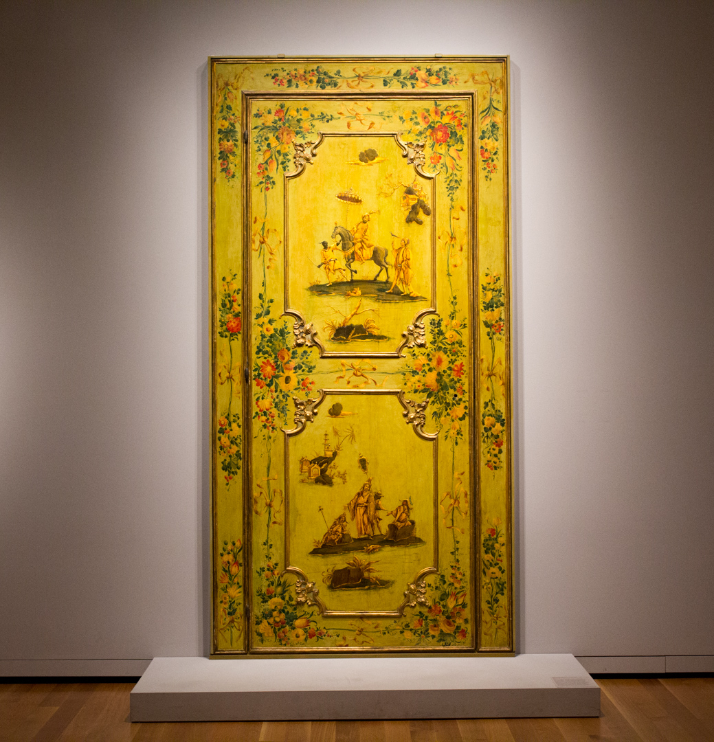 Object of the Week: Door from the Ca'Rezzonico, Venice