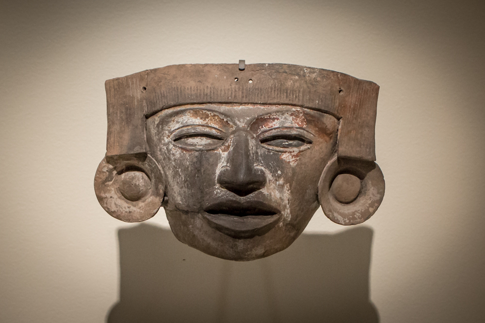 Object of the Week: Mask with ear spools