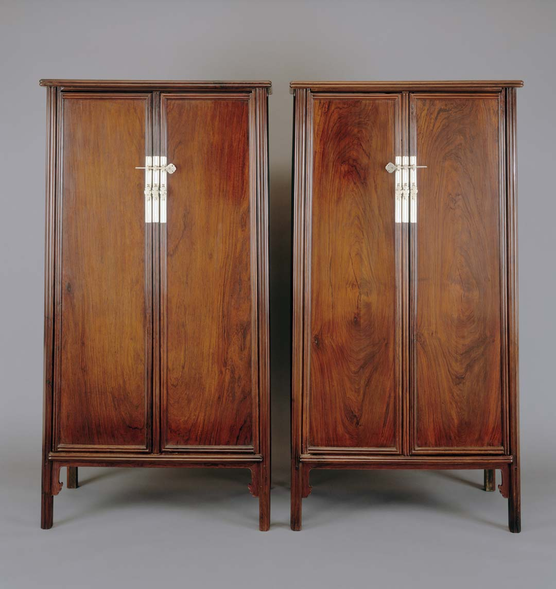 Object of the Week: Round-corner wood-hinged cabinet