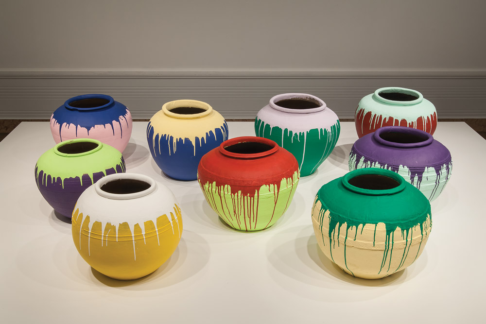 Object of the Week: Colored Vases