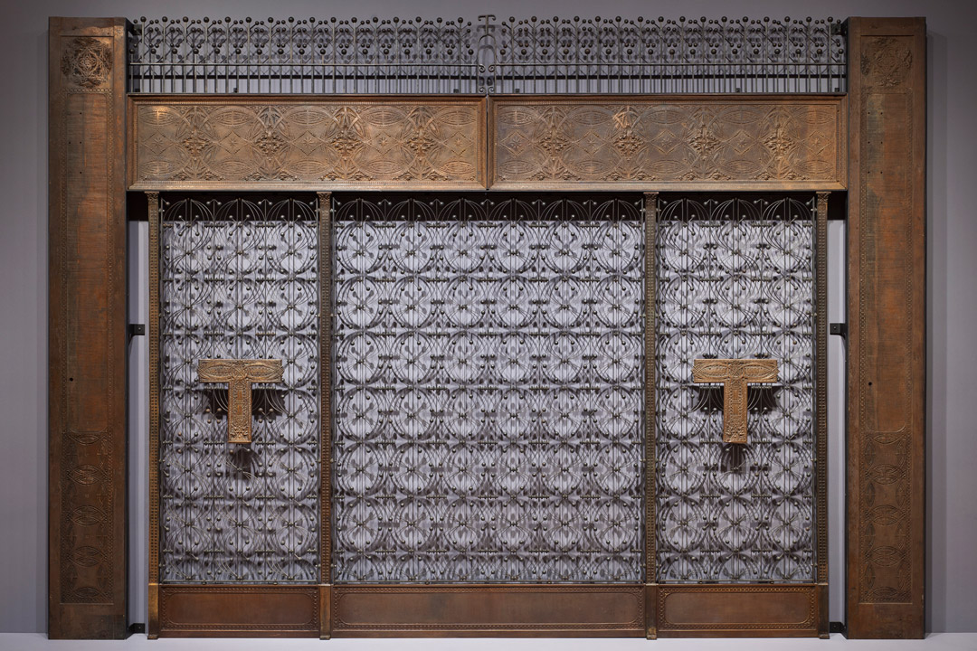 Object of the Week: Elevator screen from the Chicago Stock Exchange